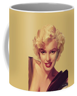 The Look In Gold Coffee Mug