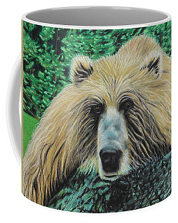 The Look Coffee Mug by Jeanne Fischer