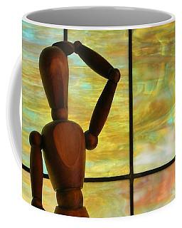 The Lookout Coffee Mug by Jean Goodwin Brooks