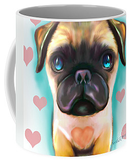 The Love Pug Coffee Mug