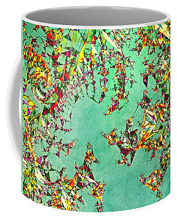 The Mad Hatter's Fractal Coffee Mug by Susan Maxwell Schmidt