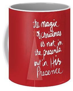 The Magic Of Christmas- Greeting Card Coffee Mug