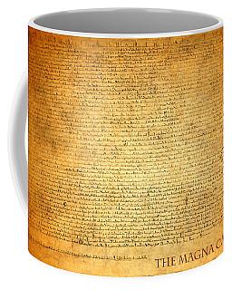 The Magna Carta 1215 Coffee Mug