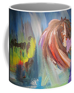 The Majik Of Horses Coffee Mug