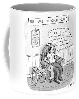 The Male Biological Clock Coffee Mug