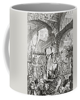 The Man On The Rack Plate II From Carceri D'invenzione Coffee Mug
