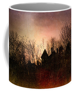 The Mansion Is Warm At The Top Of The Hill Coffee Mug