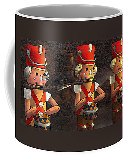 The March Of The Wooden Soldiers Coffee Mug