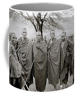 The Masai Coffee Mug by Shaun Higson