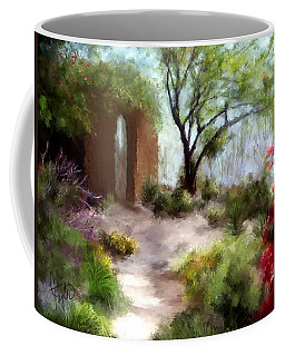 The Meditative Garden  Coffee Mug by Colleen Taylor
