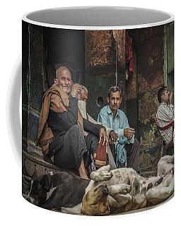 The Men Mourn Coffee Mug by Valerie Rosen