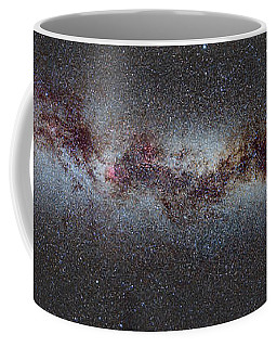 The Milky Way From Scorpio And Antares To Perseus Coffee Mug