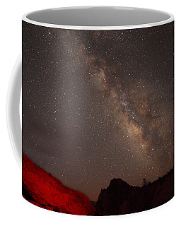 The Milky Way Over Mesa Arch Coffee Mug