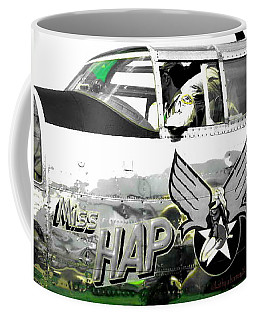 Coffee Mug featuring the photograph The Miss Hap by Kathy Barney