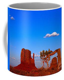 The Mittens Before Sunset Coffee Mug