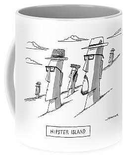 Hipster Island Coffee Mug