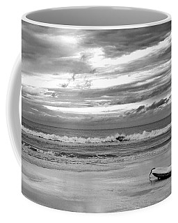 Coffee Mug featuring the photograph The Moment by Steven Santamour