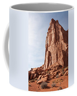 Coffee Mug featuring the photograph The Monolith by John M Bailey