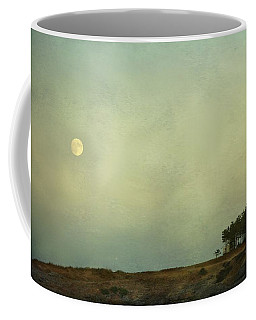 The Moon Above The Trees Coffee Mug
