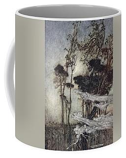 ..the Moon, Like To A Silver Bow Coffee Mug