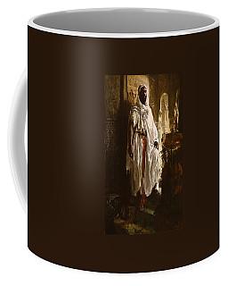 Coffee Mug featuring the painting The Moorish Chief by Eduard Charlemont
