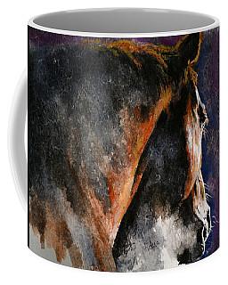 Cold Sunrise Coffee Mug by Laur Iduc