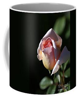 The Morning Pink Rose Coffee Mug