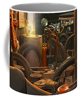 The Motorcycle Shop 2 Coffee Mug