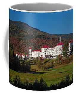 The Mount Washington Hotel In Autumn Coffee Mug