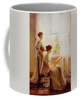 The Music Lesson, C.1890 Coffee Mug