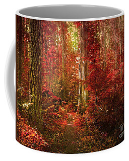 The Mystic Forest Coffee Mug by Tara Turner