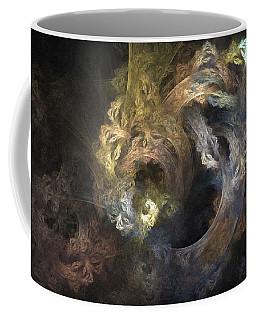 The Mystical Garden - Abstract Art Coffee Mug