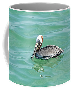 The Napping Pelican Coffee Mug