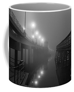 The New And Old Coffee Mug by Roger Becker