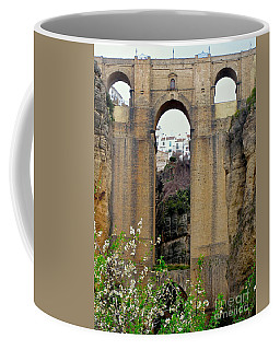 The New Bridge Coffee Mug by Suzanne Oesterling