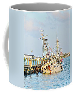 The New Hope Sunken Ship - Ocean City Maryland Coffee Mug