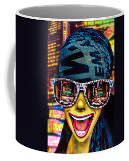 Coffee Mug featuring the photograph The New York City Tourist by Chris Lord