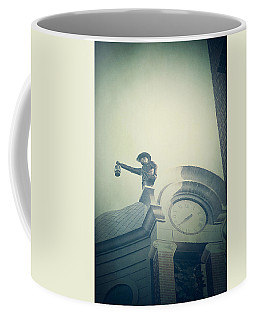 Coffee Mug featuring the photograph The Night Watchman by Trish Mistric