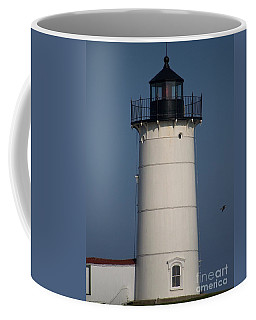 Coffee Mug featuring the photograph Lighthouse by Eunice Miller
