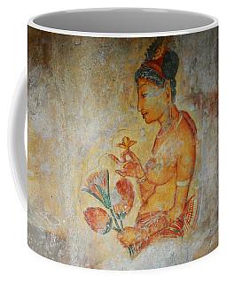 The Ode For The Women Beauty I. Sigiriyan Lady With Flowers. Sigiriya. Sri Lanka Coffee Mug