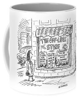 The Off-line Store Coffee Mug