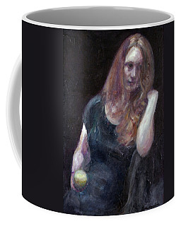 The Offering - Sale On Original Painting - Framed  Coffee Mug