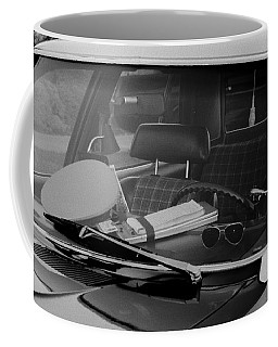 Coffee Mug featuring the photograph The Office On Wheels by Jim Thompson