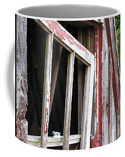 Coffee Mug featuring the photograph The Old Barn by Beth Vincent