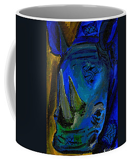 The Old Blue Rhino Coffee Mug