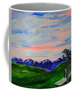 The Old Crow - Speaking Words Of Wisdom Coffee Mug