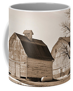 Coffee Mug featuring the photograph The Old Farm by Kirt Tisdale
