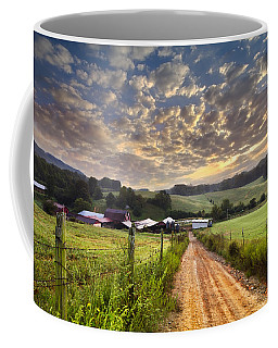 The Old Farm Lane Coffee Mug
