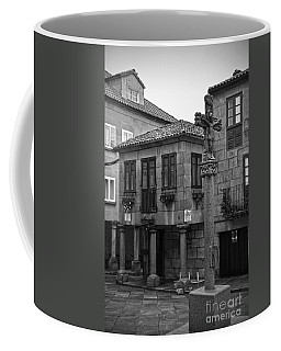 The Old Firewood Marketplace Bw Coffee Mug