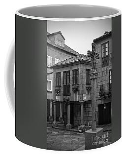 The Old Firewood Marketplace Bw Coffee Mug